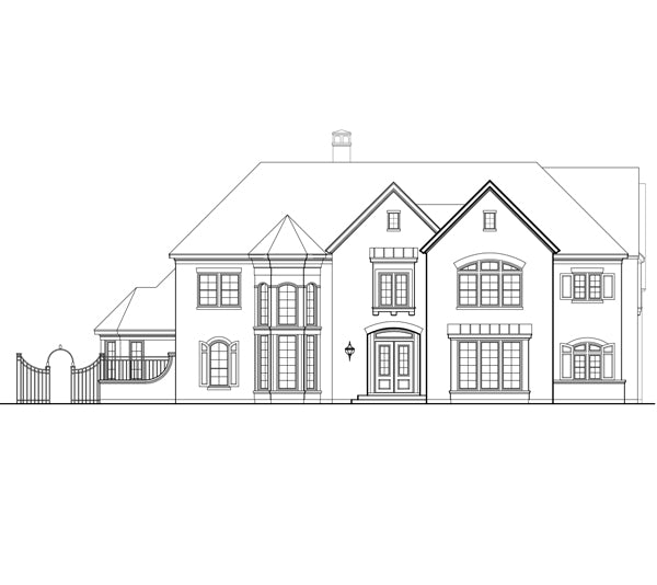 Two Story Home Plan E2064