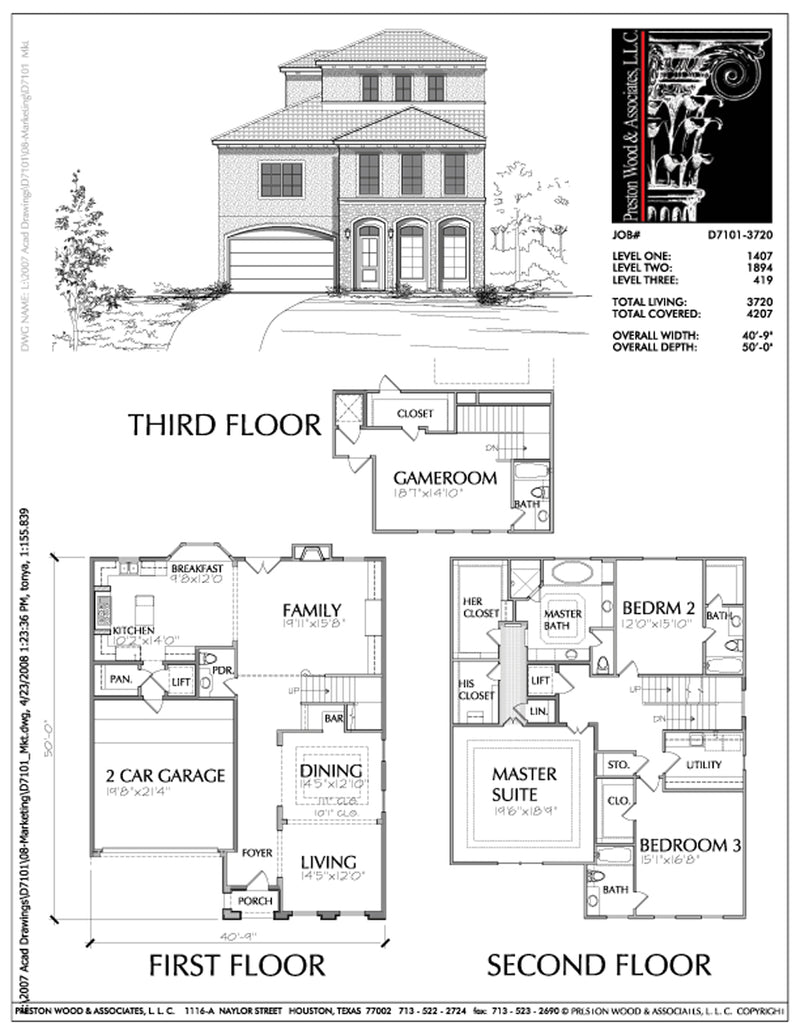 Urban House Plan D7101