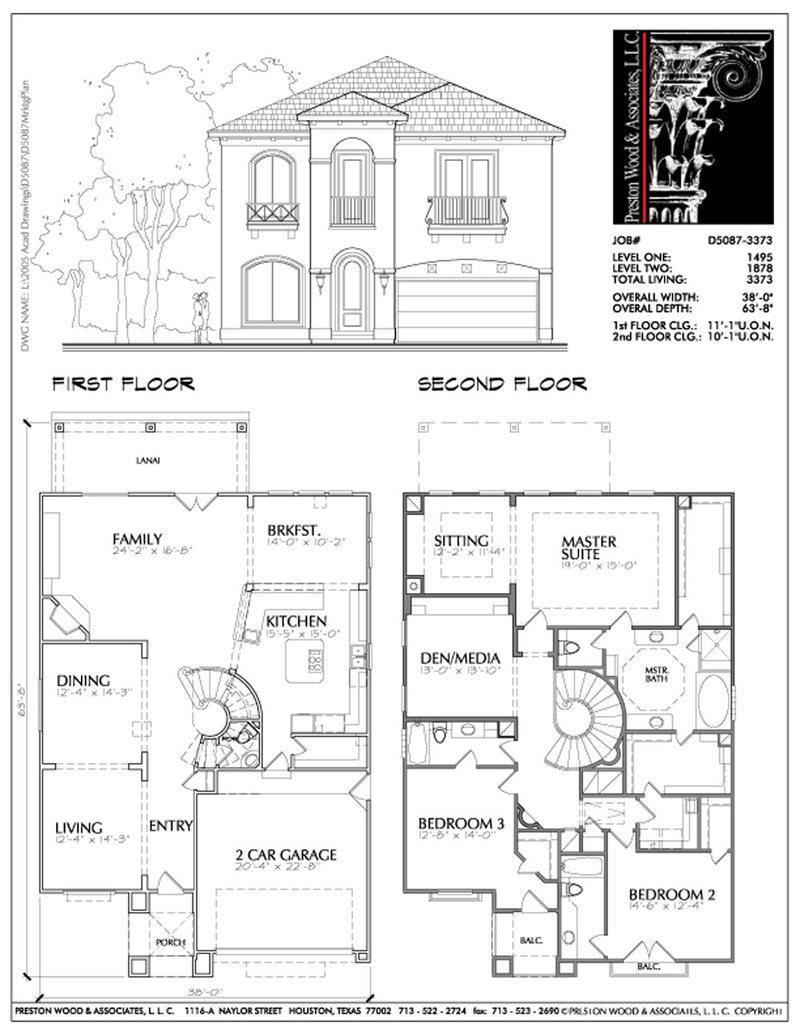 Urban House Plan D5087