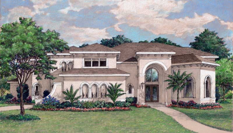 Two Story Home Plan D1189