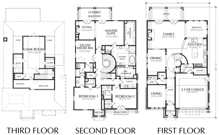 Urban House Plan E0089
