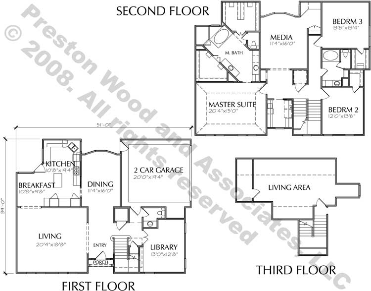 Patio Home Plan C5008