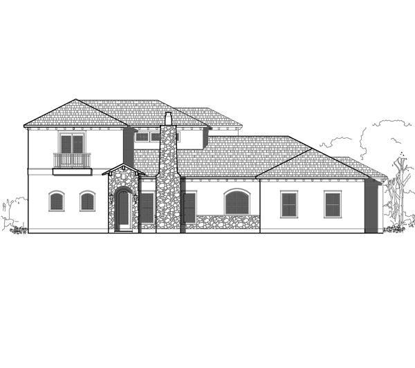 Two Story House Plan E2178