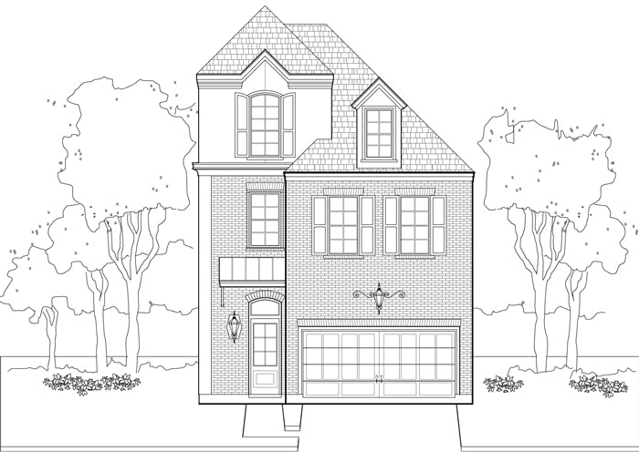 Townhouse Plan E1155 A2.3L