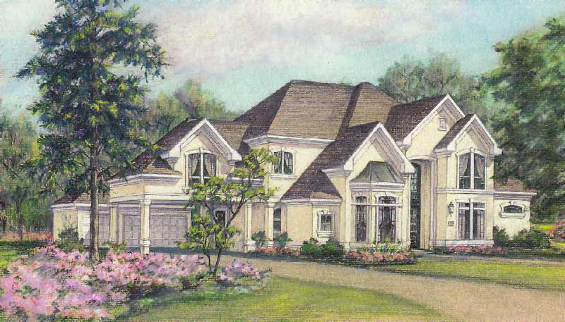 Two Story Home Plan C4174