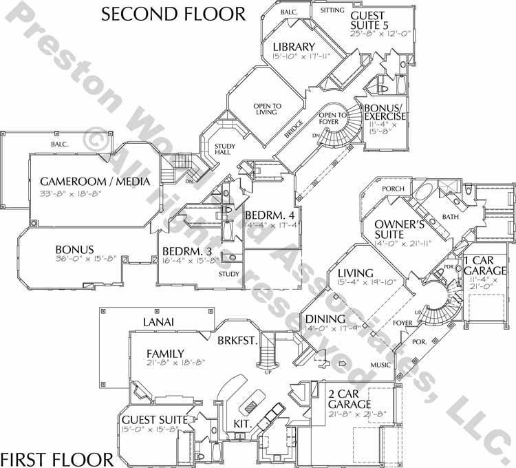 Classical Home Plan D0122