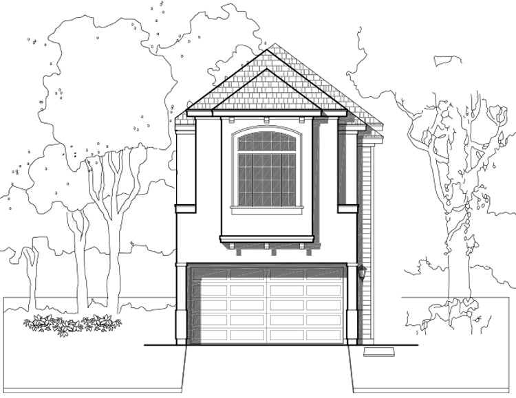 Townhouse Plan E3088 A1.1