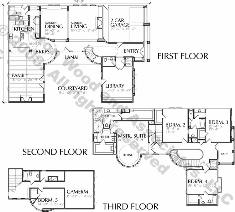 Two Story Home Design aC9297