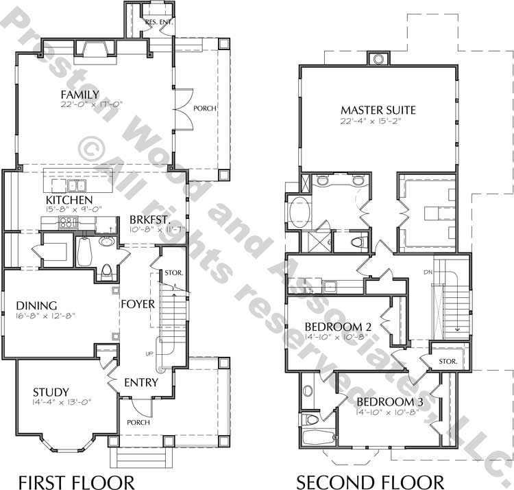 Bungalow Home Plan D0005