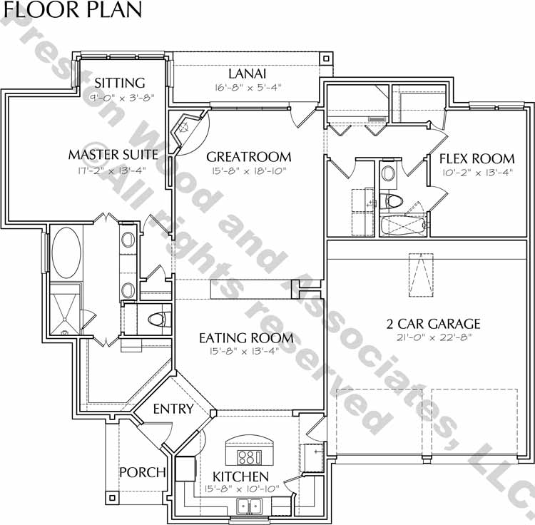 Patio Home Plan D3060 u3