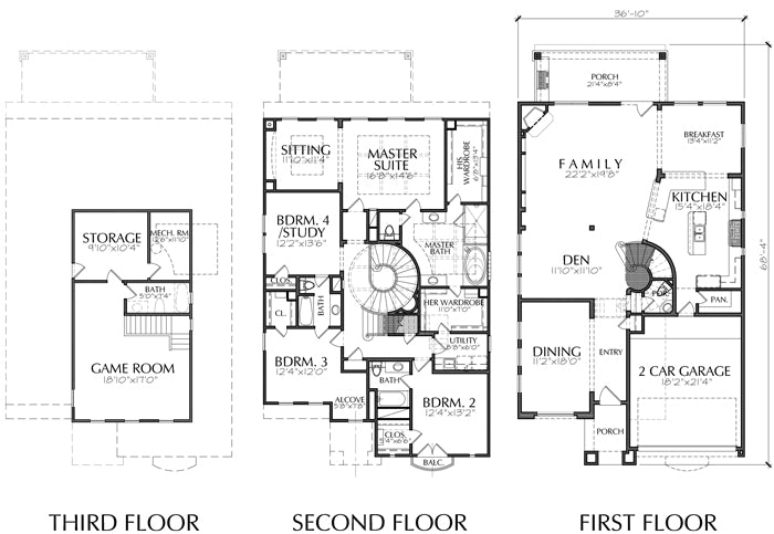 Urban House Plan E0244