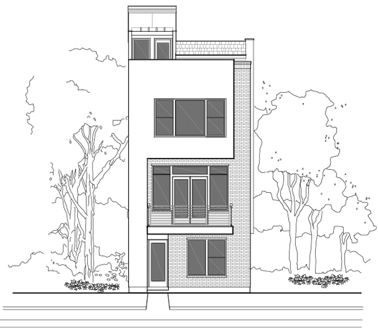 Townhouse Plan E2160 A1.1