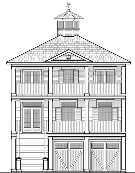 Beach House Plan D8150