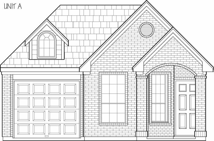 One Story Garden Home Plan D1112 on tiny house plans with, modern house plans with, two story house plans with, small house plans with, charleston style house plans with, craftsman house plans with, country house plans with, luxury house plans with, log house plans with, mediterranean house plans with, european house plans with,