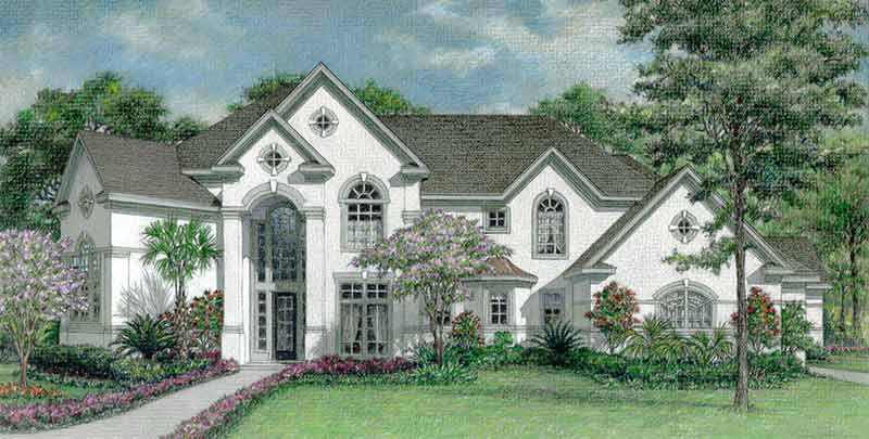 Traditional Style House Plan D0100