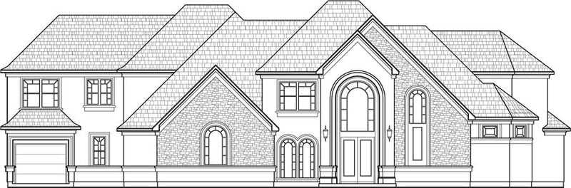 Two Story House Plan C8279