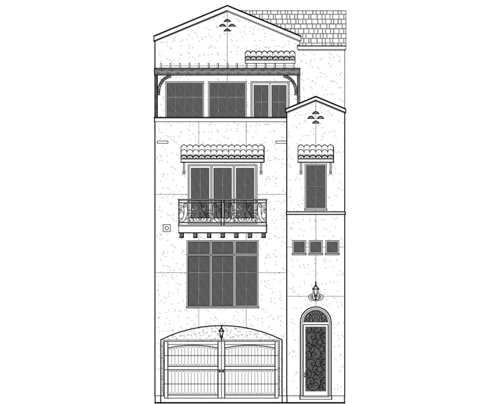 Townhouse Plan E1108 Lot 2