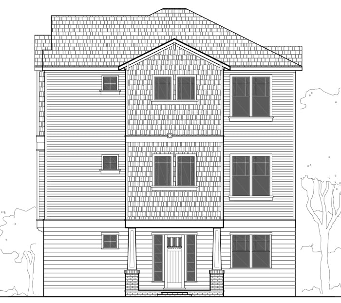 Townhouse Plan E2300 B3.3