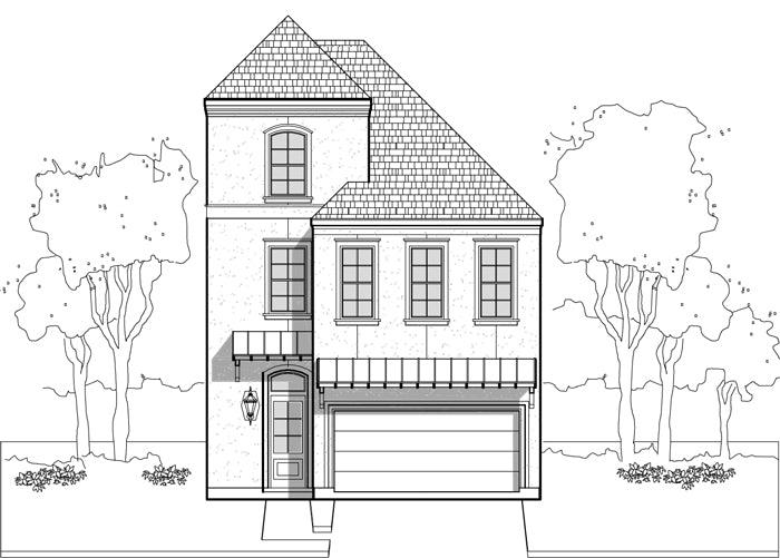 Townhouse Plan E1036 A2.1