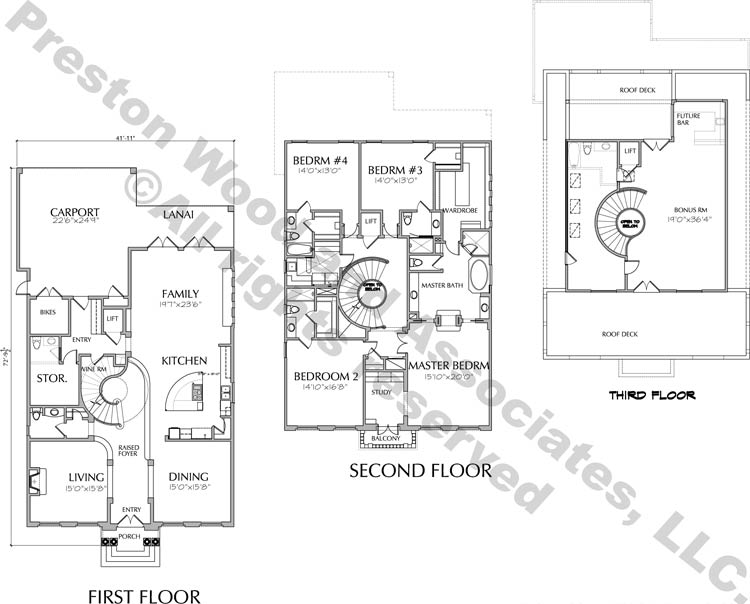 Two Story Home Plan aD4227
