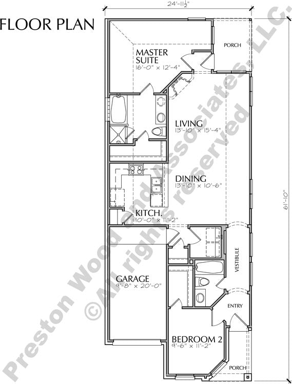Small House Plan D1112