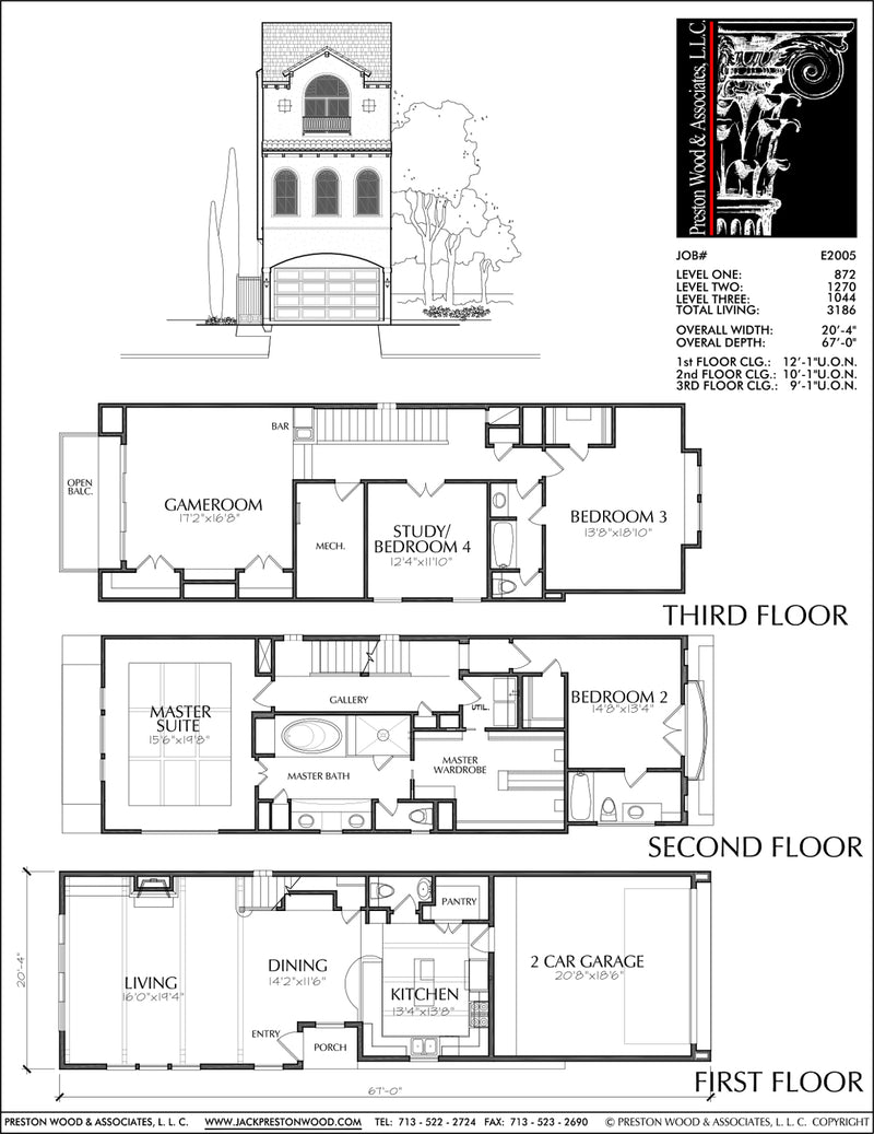 Townhouse Plan E2005
