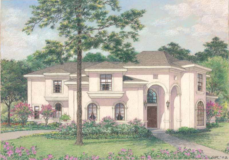 Two Story Home Plan D2009