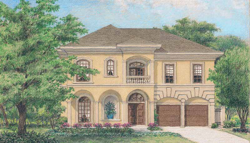 Two Story Home Plan D1129