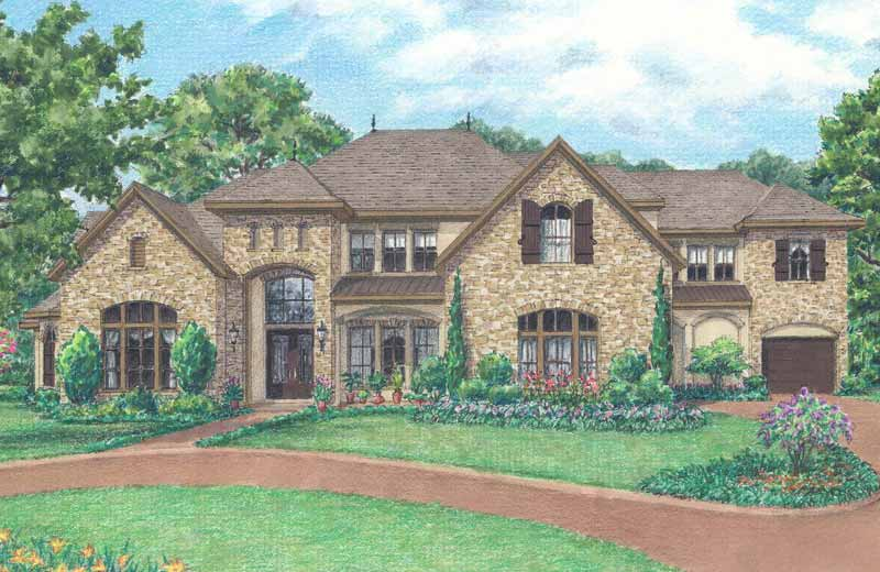 Two Story Home Plan D2126