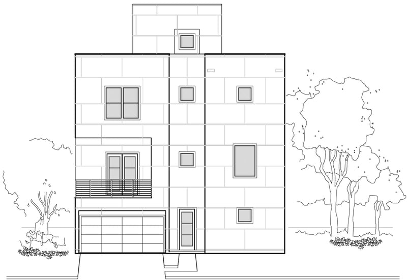 Townhouse Plan E5008 A1.1