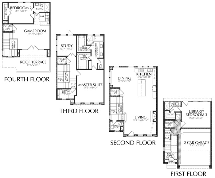 Townhouse Plan E2295 A1.2