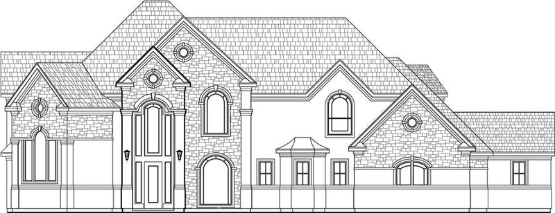 Two Story House Plan D1007