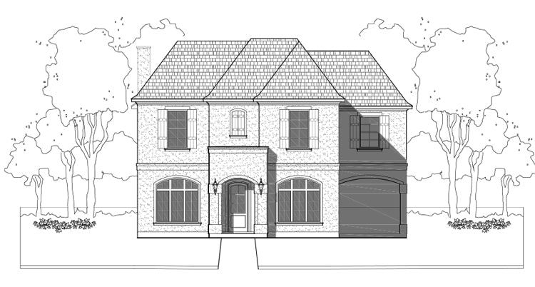 Two Story Home Plan E2145