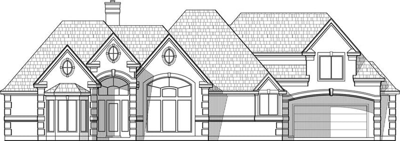 Two Story House Plan C5167