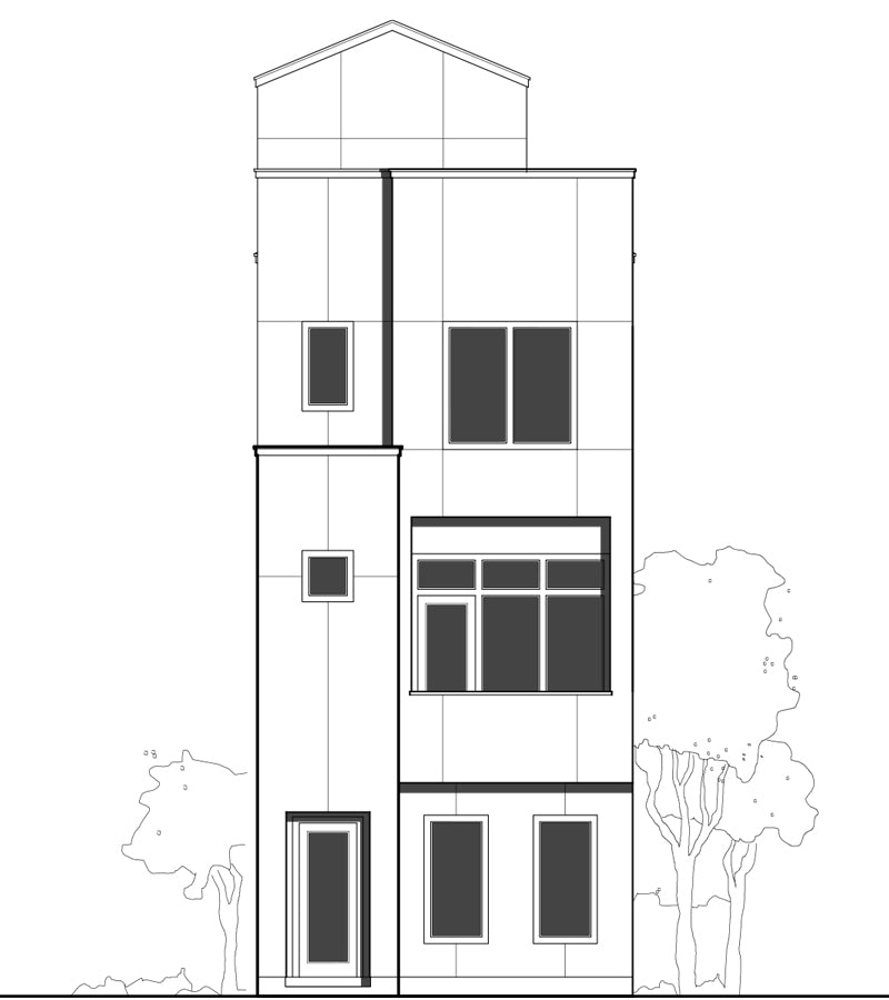 Townhouse Plan E3006 A2.1L