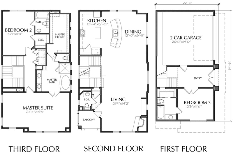 Townhouse Plan D3235 u5