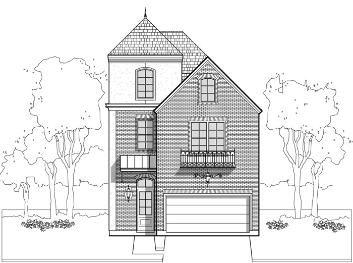 Townhouse Plan E1036 A1.2