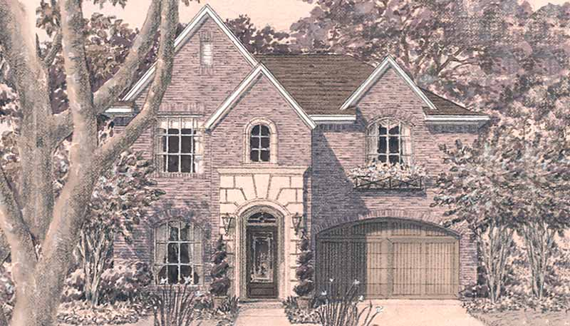 Two Story House Plan D4216