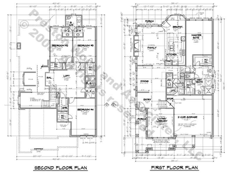Patio Home Plan C6143
