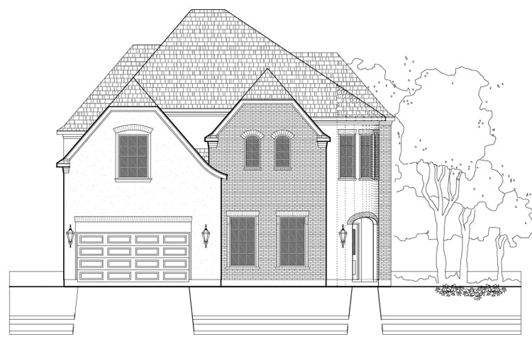 Two Story Home Plan E2235 B1.1