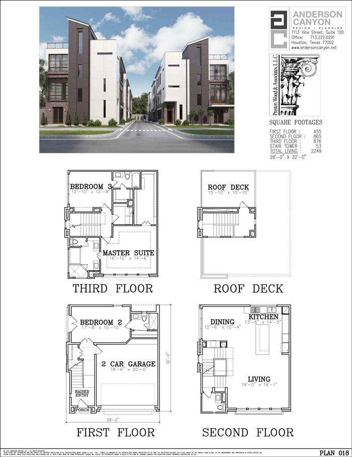 Townhouse Plan E4102-018