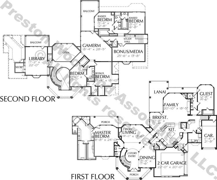 Two Story Home Plan D2062