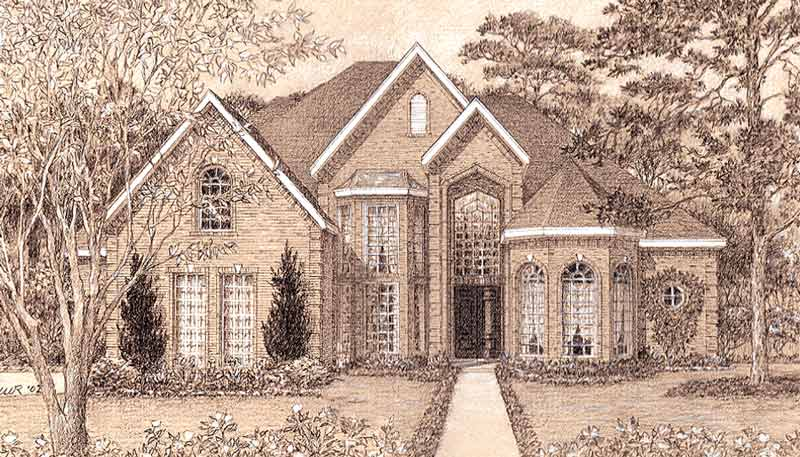 Two Story Home Plan D2097