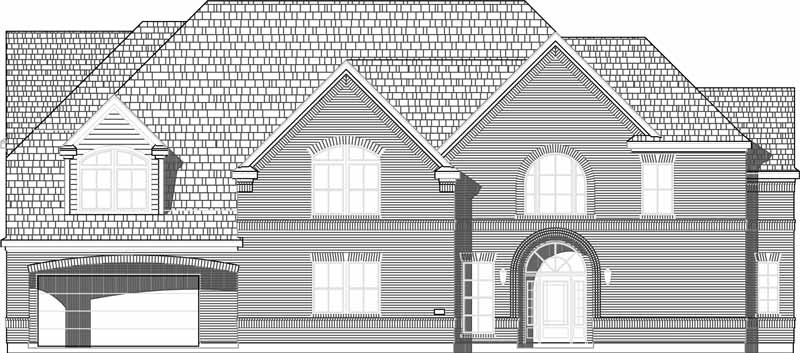 Two Story House Plan C6326