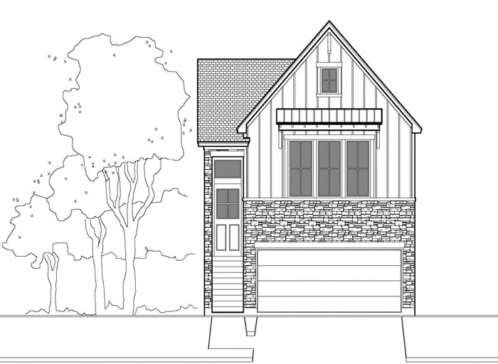Townhouse Plan E5038