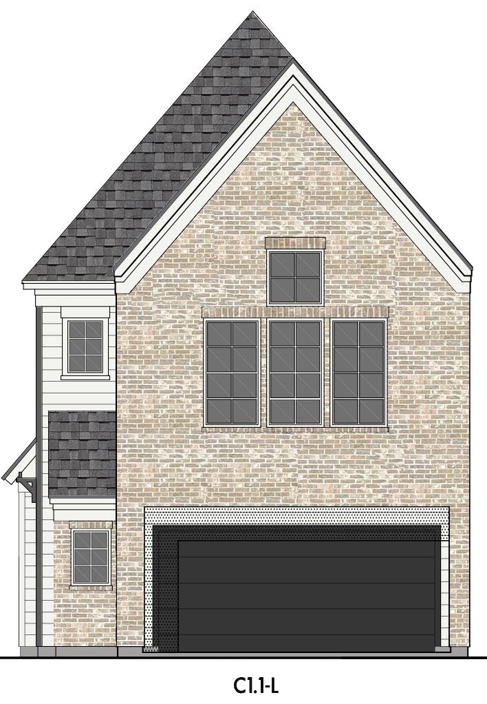 Three Story Home Plan E5159 C1.1