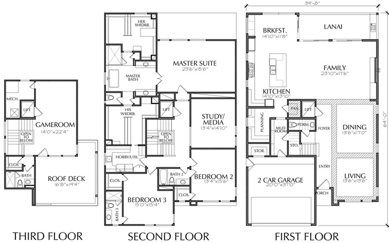 Urban House Plan E3376