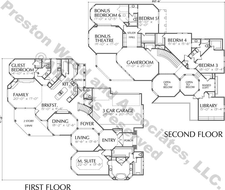 Two Story Home Plan D0117
