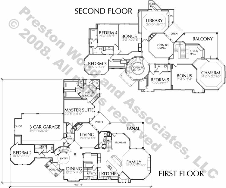 Traditional Style House Plan D0112