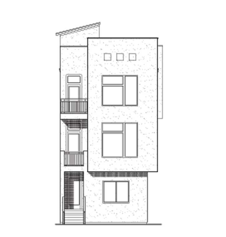 Townhouse Plan D7009 L1